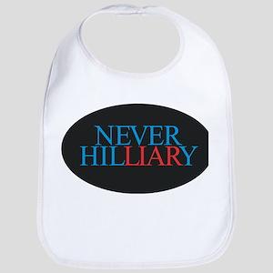 Never Hilliary Bib