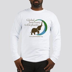 Long Sleeve T-Shirt With Logo-White Long Sleeve T-
