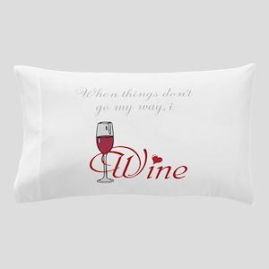 I Wine Pillow Case