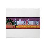 Endless Summer in Key West Throw Blanket