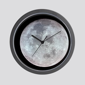 Moon from Apollo 11 Wall Clock