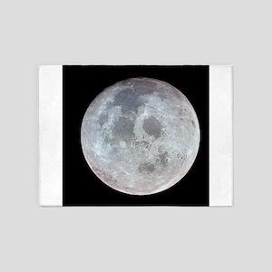 Moon from Apollo 11 5'x7'Area Rug