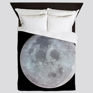 Moon from Apollo 11 Queen Duvet