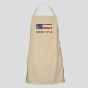 Washington DC American Flag Skyline Apron