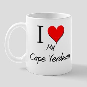 I Love My Cape Verdean Mug