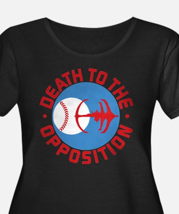 DS9 Death To The Opposition Plus Size T-Shirt