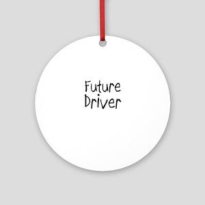 Future Driver Ornament (Round)