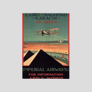 Imperial Airways, Vintage Poster 5'x7'area