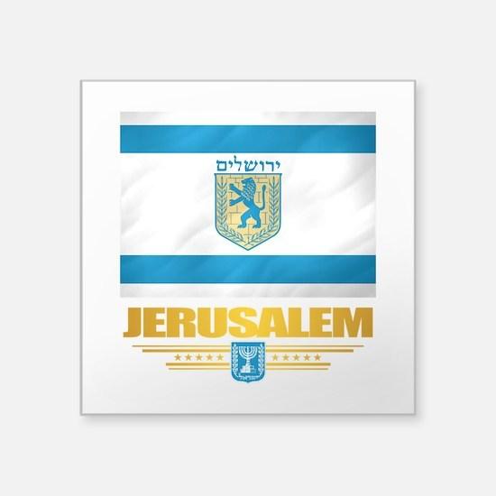 Jerusalem Flag Sticker