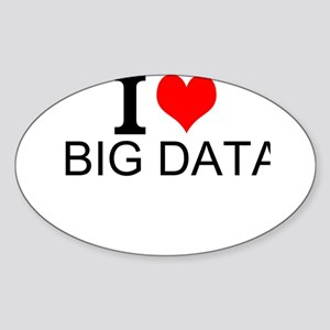 I Love Big Data Sticker