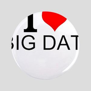 I Love Big Data Button