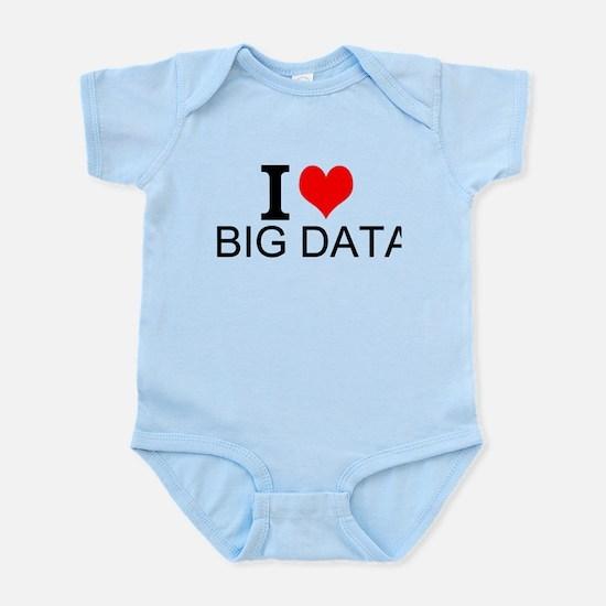 I Love Big Data Body Suit