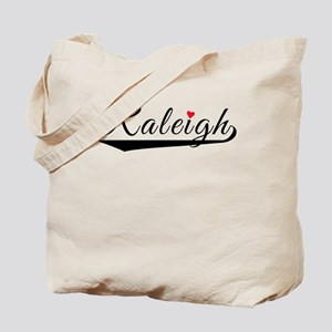 Raleigh Heart Logo Tote Bag