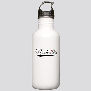 Nashville Heart Logo Water Bottle