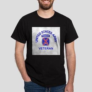 Army-10th-Mountain-Div-Veteran-Butto T-Shirt