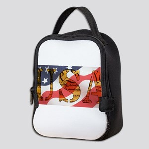 USA Neoprene Lunch Bag