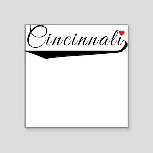 Cincinnati Heart Logo Sticker
