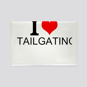 I Love Tailgating Magnets