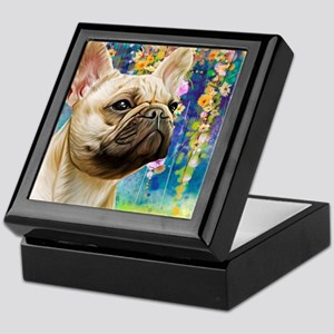 French Bulldog Painting Keepsake Box