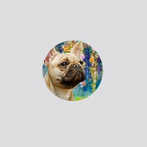 French Bulldog Painting Mini Button