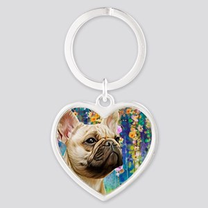 French Bulldog Painting Keychains