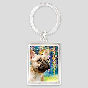 French Bulldog Painting Keychains