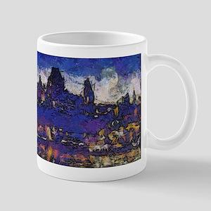 Quebec starry night Mugs