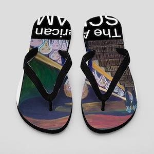 The American Scream Flip Flops
