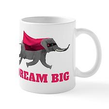 Flying Elephant - Dream big Mugs