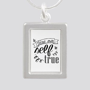 To Thing Own Self Be True Necklaces