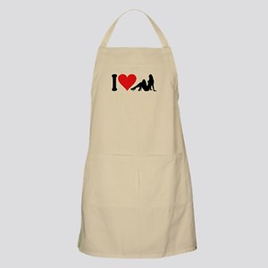 I Love Strippers (design) BBQ Apron