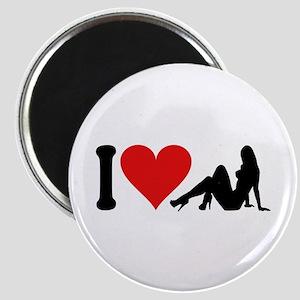 I Love Strippers (design) Magnet
