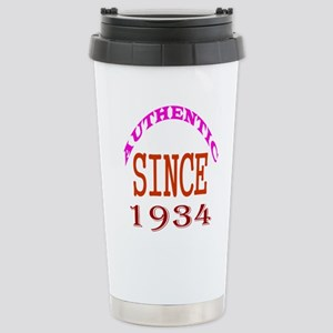Authentic Since 1934 Bi Stainless Steel Travel Mug