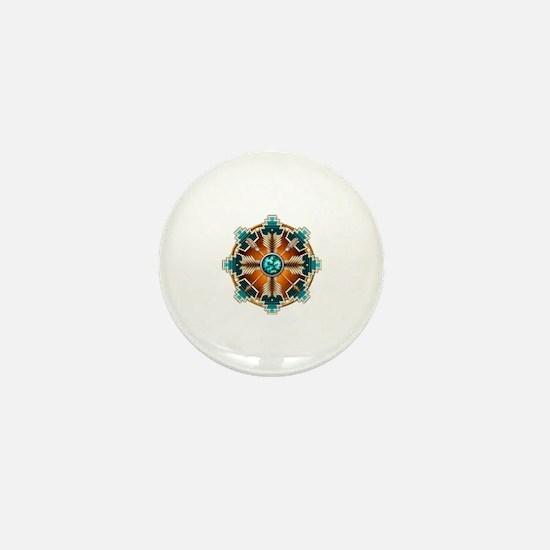 Cute Native art Mini Button
