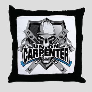 Union Carpenter Throw Pillow