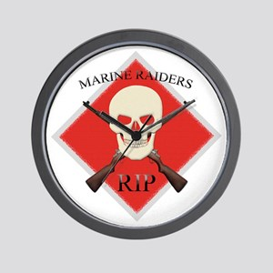 RIP Marine Raiders Wall Clock