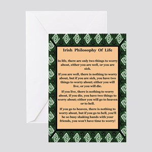 Irish Philosophy Greeting Cards