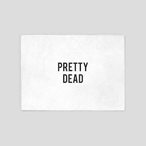 Pretty Dead 5'x7'Area Rug