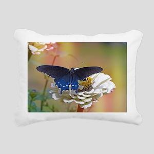 Spicebush Swallowtail Rectangular Canvas Pillow