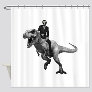 Dino Abe Shower Curtain
