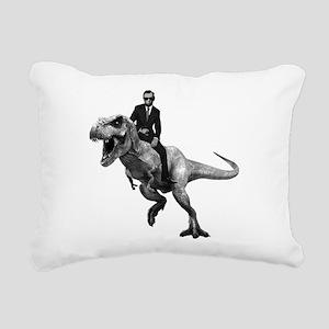 Dino Abe Rectangular Canvas Pillow