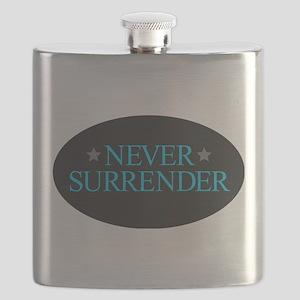 Never Surrender Flask