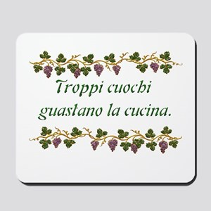 Harvest Moons Italian Proverb Mousepad