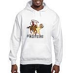 #westerns Hooded Sweatshirt