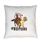 #westerns Everyday Pillow