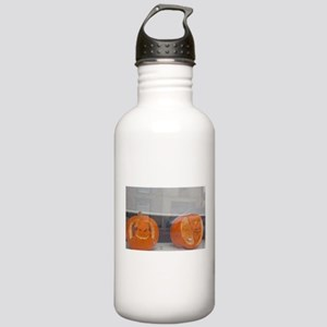 carved pumpkins Stainless Water Bottle 1.0L