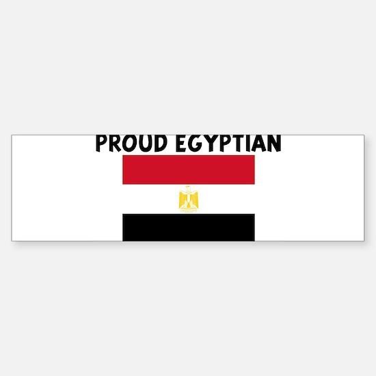 PROUD EGYPTIAN Bumper Bumper Bumper Sticker