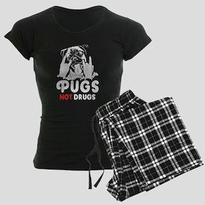 Pugs Not Drugs Pajamas