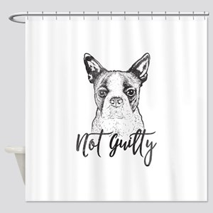 Not Guilty Shower Curtain