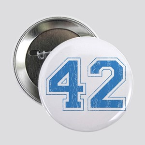 Retro Number 42 Button